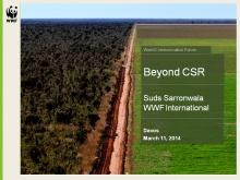 Sudhanshu Sarronwala, Executive Director Marketing & Communications at WWF International (Switzerland)