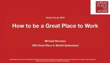 Michael Hermann, CEO for Switzerland, Great Place to Work (Switzerland)