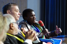 Faith Muthambi, Minister of Communications of the Republic of South Africa
