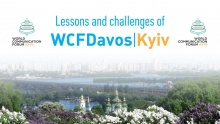 Iryna Zolotarevych, Regional Director of WCFDavos and WCF's exclusive representative (Ukraine)