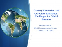 Diego Gilardoni, Global Business and Communication Consultant, and Author (Switzerlnad)
