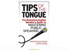 "Deborah Grayson Riegel, Director of Learning at Boda Group, author of the book ""Tips of the Tongue"" (USA)"