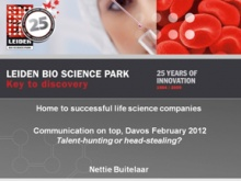 Nettie Buitelaar, CEO at Leiden Bio Science Park