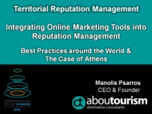 Manolis Psarros, Managing Director of abouTourism