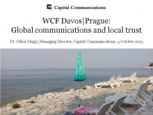 Dr. Gabor Hegyi, Founder and Managing Director of Capital Communications (Hungary)