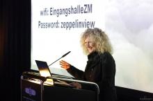 Dr. Claudia Emmert, Director of the Zeppelin Museum of Friedrichshafen, Germany