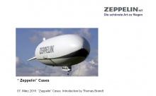 Thomas Brandt, CEO of ZLT Zeppelin Luftschifftechnik GmbH & Co. KG (Germany)
